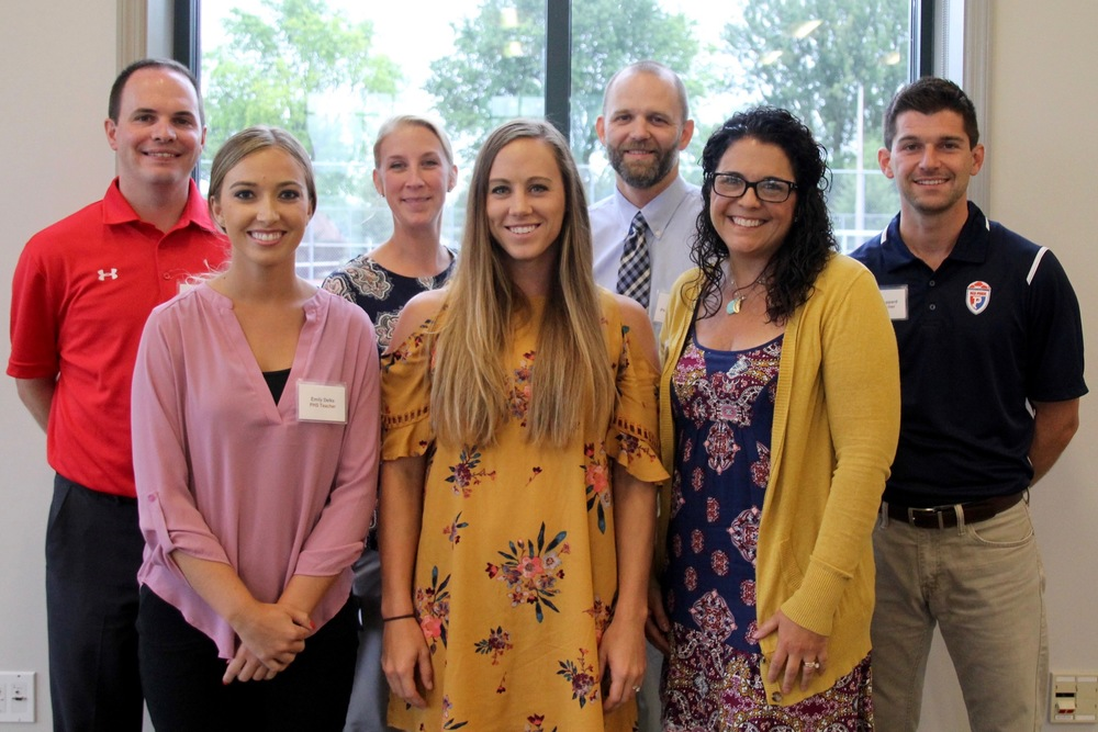 Meet the New Teachers: PHS