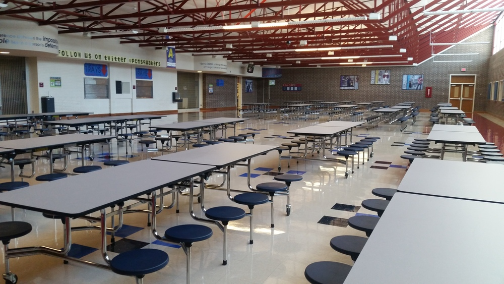 PCMS New Cafe Tables