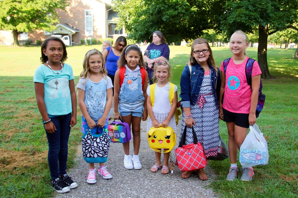 It was a successful First Day of School (FDOS)!