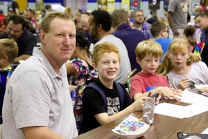 Brentwood devours Donuts with Dads