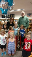 VB is the Plainfield Library Summer Reading Club Winner!