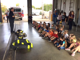 Kindergarten Make a Trip to the Fire Station