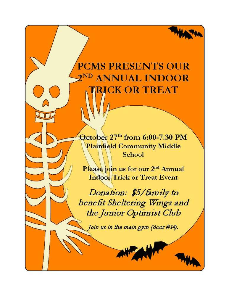 PCMS TRICK OR TREAT!!!