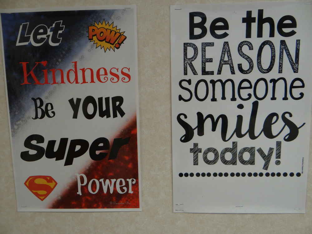 K is for Kindness - Van Buren's Super Power!