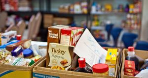 K-Kids Food Drive to Benefit St. Mark's Food Pantry