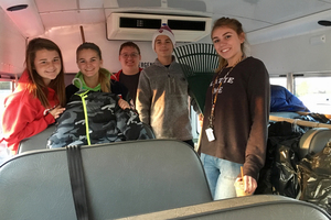 Students spend Saturday serving others