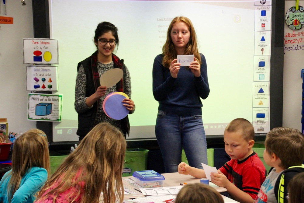 PHS Spanish 4 students spend a day teaching others