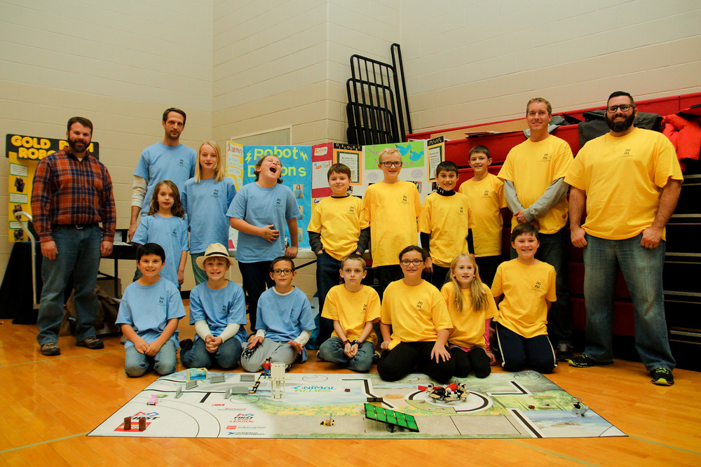 Van Buren Students Participate in Robotics Competition