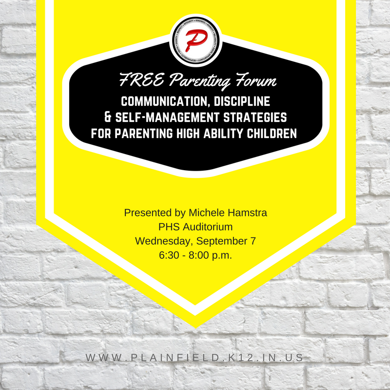FREE Parenting Forum - Sept. 7th - Open to ALL!